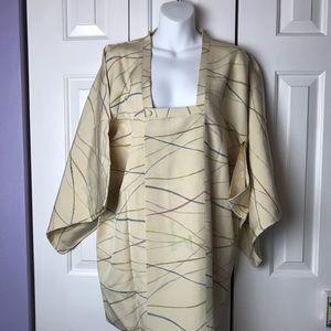 Jackets & Blazers - Vintage short Kimono Jacket